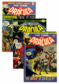 Bronze Age (1970-1979):Horror, Tomb of Dracula Group (Marvel, 1972-74) Condition: Average VF+....(Total: 9 Comic Books)