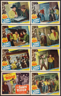 "The Dawn Rider (Western Adventure, R-1940s). Lobby Card Set of 8 (11"" X 14""). Western. ... (Total: 8 Items)"