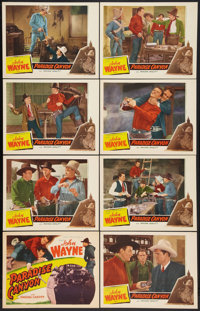"""Paradise Canyon (Western Adventure, R-1940s). Lobby Card Set of 8 (11"""" X 14""""). Western. ... (Total: 8 Items)"""