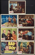"""Movie Posters:Drama, Bad Boy (Allied Artists, 1949). Title Lobby Card and Lobby Cards (6) (11"""" X 14""""). Drama.. ... (Total: 7 Items)"""