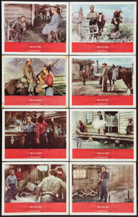 "Shane (Paramount, R-1966). Lobby Card Set of 8 (11"" X 14""). Western. ... (Total: 8 Items)"