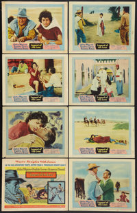 """Legend of the Lost (United Artists, 1957). Lobby Card Set of 8 (11"""" X 14""""). Adventure"""