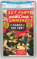 Sgt. Fury and His Howling Commandos #6 (Marvel, 1964) CGC NM+ 9.6 White pages