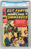 Silver Age (1956-1969):War, Sgt. Fury and His Howling Commandos #4 (Marvel, 1963) CGC NM+ 9.6 Off-white to white pages....