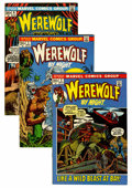 Bronze Age (1970-1979):Horror, Werewolf by Night Group (Marvel, 1972-74) Condition: AverageVF/NM.... (Total: 9 Comic Books)