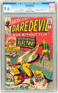 Silver Age (1956-1969):Superhero, Daredevil #2 (Marvel, 1964) CGC NM+ 9.6 White pages....