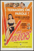 "Movie Posters:Crime, The Violators (RKO/Universal International, 1957). One Sheet (27"" X 41""). Crime.. ..."