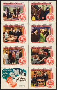"""Between Two Worlds (Warner Brothers, 1944). Lobby Card Set of 8 (11"""" X 14""""). Mystery. ... (Total: 8 Items)"""