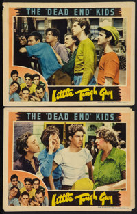 """Little Tough Guy (Universal, 1938). Lobby Cards (2) (11"""" X 14""""). Crime. ... (Total: 2 Items)"""