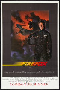 """Firefox (Warner Brothers, 1982). One Sheet (27"""" X 41"""") Advance. Action"""