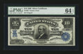 Large Size:Silver Certificates, Fr. 302 $10 1908 Silver Certificate PMG Choice Uncirculated 64EPQ.. ...