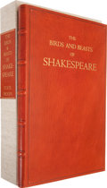 Books:Signed Editions, [Cheloniidae Press]. Alan James Robinson and Arthur F. Kinney.The Birds and Beasts of Shakespeare. [Easthampton...