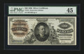 Large Size:Silver Certificates, Fr. 314 $20 1886 Silver Certificate PMG Choice Extremely Fine 45.....