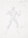 Original Comic Art:Sketches, Bob Layton Cyclops Sketch Original Art (undated)....