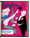 Magazines:Humor, For Laughing Out Loud #14-17 Bound Volume (Dell, 1960)....