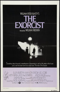 """The Exorcist (Warner Brothers, 1974). Autographed One Sheet (27"""" X 41"""") and Lobby Cards (3). Horror. ... (Tota..."""