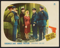 "This Gun for Hire (Paramount, 1942). Lobby Card (11"" X 14""). Film Noir"