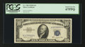 Small Size:Silver Certificates, Fr. 1708 $10 1953B Silver Certificate. PCGS Superb Gem New 67PPQ.. ...