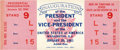 Miscellaneous Collectibles:General, 1961 John F. Kennedy Presidential Inauguration Full Ticket....