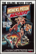 "Movie Posters:Exploitation, Women's Prison Massacre (Unistar, 1984). One Sheet (27"" X 41"").Exploitation.. ..."