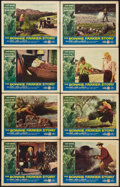 """Movie Posters:Crime, The Bonnie Parker Story (American International, 1958). Lobby CardSet of 8 (11"""" X 14""""). Crime.. ... (Total: 8 Items)"""