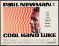 "Movie Posters:Drama, Cool Hand Luke (Warner Brothers, 1967). Half Sheet (22"" X 28"").Drama.. ..."