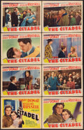 "Movie Posters:Drama, The Citadel (MGM, 1938). Lobby Card Set of 8 (11"" X 14""). Drama.. ... (Total: 8 Items)"