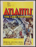"""Movie Posters:Adventure, Atlantis, the Lost Continent (MGM, 1961). Poster (30"""" X 40"""").Adventure.. ..."""