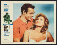 """Dr. No (United Artists, 1962). Lobby Cards (2) (11"""" X 14""""). James Bond. ... (Total: 2 Items)"""