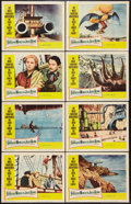 """Movie Posters:Fantasy, The Fabulous World of Jules Verne (Warner Brothers, 1961). Lobby Card Set of 8 (11"""" X 14""""). Fantasy.. ... (Total: 8 Items)"""