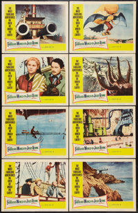 """The Fabulous World of Jules Verne (Warner Brothers, 1961). Lobby Card Set of 8 (11"""" X 14""""). Fantasy. ... (Tota..."""