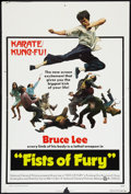 "Movie Posters:Action, Fists of Fury (National General, 1973). One Sheet (27"" X 41"").Action.. ..."