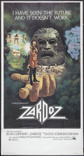 "Movie Posters:Fantasy, Zardoz (20th Century Fox, 1974). Three Sheet (41"" X 81""). Fantasy....."
