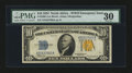 Small Size:World War II Emergency Notes, Fr. 2308 $10 1934 North Africa Silver Certificate. PMG Very Fine30.. ...