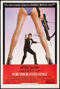 "Movie Posters:James Bond, For Your Eyes Only (United Artists, 1981). Poster (40"" X 60"").James Bond.. ..."