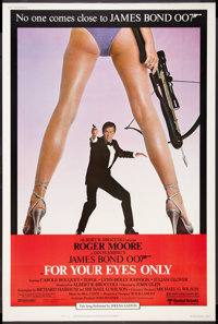 "For Your Eyes Only (United Artists, 1981). Poster (40"" X 60""). James Bond"