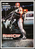 "Movie Posters:Action, RoboCop Lot (Orion, 1987). Italian Foglio (27.5"" X 39.5"") and One Sheets (3) (27"" X 41""). Action.. ... (Total: 4 Items)"