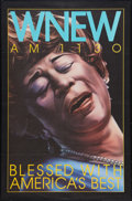 """Movie Posters:Musical, Ella Fitzgerald Lot (WNEW, 1940). Posters (2) (40"""" X 60""""). Musical.. ... (Total: 2 Items)"""
