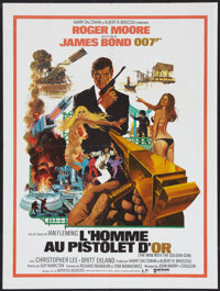 """The Man With the Golden Gun (United Artists, 1974). French Affiche (23.5"""" X 31.5""""). James Bond"""