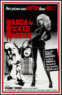 "Wanda the Wicked Warden (Bernie Jacon, 1979). One Sheet (26"" X 40""). Sexploitation"