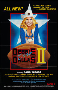 "Debbie Does Dallas Part II Lot (VCA, 1981). One Sheets (2) (27"" X 38""). Adult. ... (Total: 2 Items)"