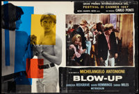 "Blow-Up (MGM, 1967). Italian Photobustas (4) (18"" X 27""). Thriller. ... (Total: 4 Items)"