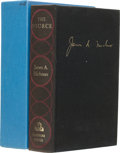 Books:Signed Editions, James A. Michener. The Source. New York: Random House,[1965]. First edition, first printing, limited to 500 copies ...