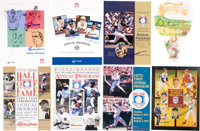 Hall of Fame Multi Signed Programs Lot of 7