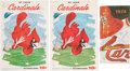 Baseball Collectibles:Publications, 1959-74 St. Louis Cardinals Multi Signed Publications....