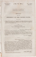 Books:Pamphlets & Tracts, [Republic of Texas]. Gorostiza Pamphlet. Message from thePresident of the United States,...