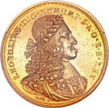 Austria: , Austria: Leopold I (the Hogmouthed) medallic gold 15 Ducats ND (1666-1705), Hall Mint,...