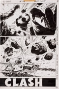 Original Comic Art:Splash Pages, Sam Glanzman G. I. Combat #173 page 3 Original Art (DC,1974)....