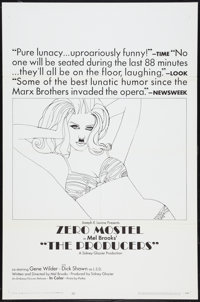 """The Producers Lot (Embassy, 1967). One Sheets (2) (27"""" X 41"""") Style B. Comedy. ... (Total: 2 Items)"""