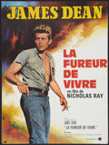 """Movie Posters:Drama, Rebel Without a Cause (Warner Brothers, R-1970s). French Affiche (23.5"""" X 31.5""""). Drama.. ..."""